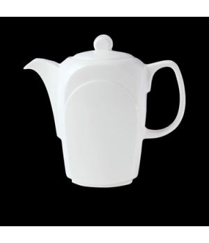 Coffee/Teapot Lid C, Distinction, Bianco, Bianco White (USA stock item) (minimum