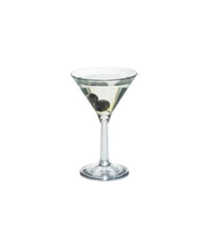 "Camwear® Aliso™ Barware Martini Glass, 10-1/2 oz., top dia. 4-13/16"", 6-7/8""H, n"