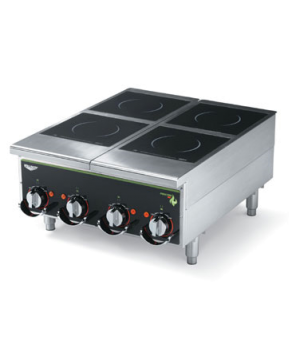 Heavy-Duty Induction Hotplate - 4 hob manual control, back of the house for Voll