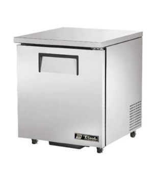Undercounter Freezer, -10° F, (2) shelves, stainless steel top & sides, white al