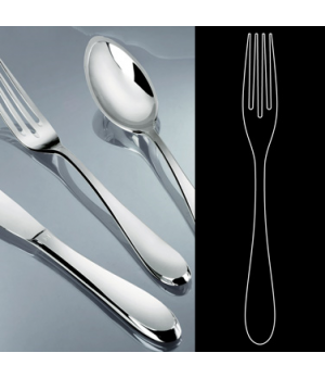 "Table Fork, 9"", stainless steel, La Tavola, Premiere (USA stock item) (minimum ="