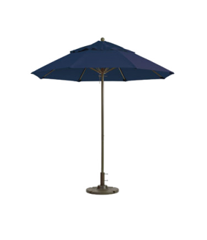 "Windmaster Umbrella, 7-1/2 ft., 1-1/2"" aluminum pole, replaceable fiberglass rib"