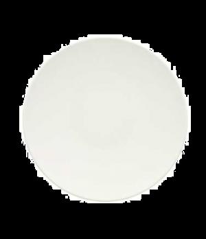"""Plate, 8-1/4"""", coupe, flat, premium porcelain, Dune"""