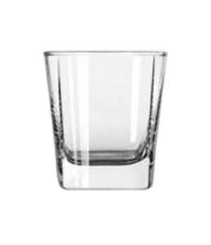 Old Fashioned Glass, 6-3/8 oz., square base, Quartet