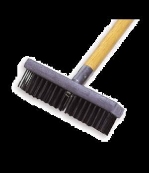 Wire Brush, plastic butcher block handle, gray