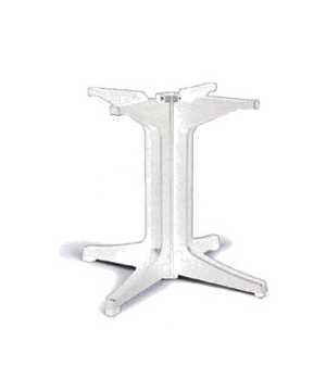 Pedestal Base 2000, resin, white