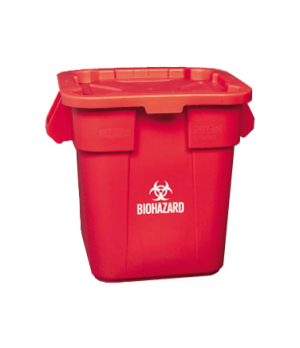 Combo Pack BRUTE® Container, includes: 3526 Square BRUTE® Container & 3529 Snap-