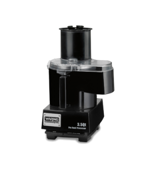 "Commercial Food Processor, 3.5 qt., continuous feed design, LiquiLockâ""¢ Seal Sy"