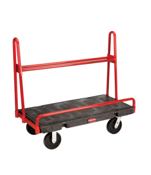 "A-Frame Panel Truck, 24"" x 48"", 2000 lb capacity, single, 32"" high side inclined"