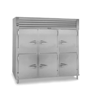 Spec-Line Heated Cabinet, Reach-in, Three-Section, stainless steel exterior, alu