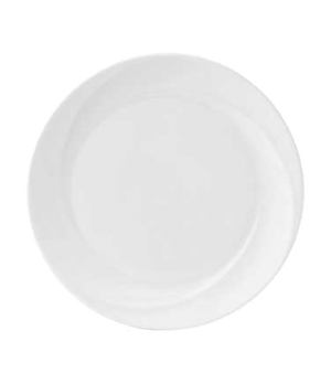 Solar Dish, round, dishwasher safe, bone china, white (priced per case, packed 6