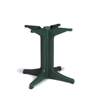 Pedestal Base 2000, resin, Amazon green