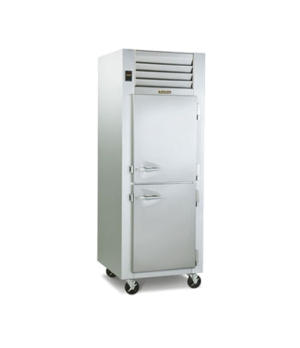 Dealer's Choice Refrigerator, One-Section, Pass-Thru, remote with microprocessor