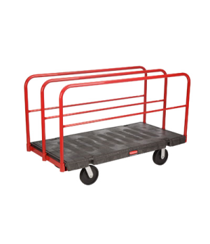 "Sheet & Panel Truck, 30"" x 60"", 2000 lb capacity, removable 27"" high vertical fr"