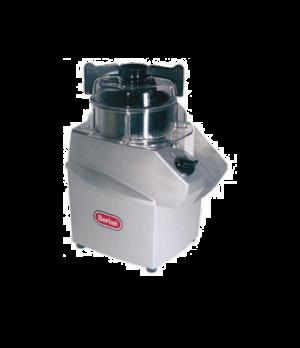 Cutter Mixer, vertical, 3.2 qt. stainless steel bowl, lid, scraper, blades & kni