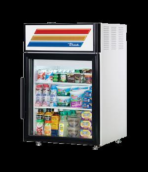Countertop Refrigerated Merchandiser, (2) shelves, laminated vinyl exterior, whi