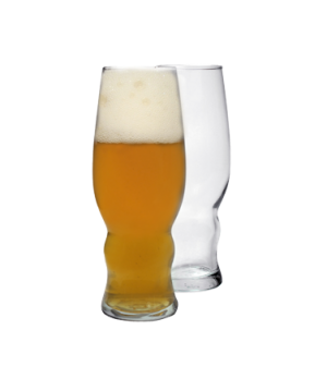 "Pilsner Glass, 16 oz., 7-5/8"" H, glass, sodo material, (2-1/4"" T, 2-7/8"" M, 2-1/"