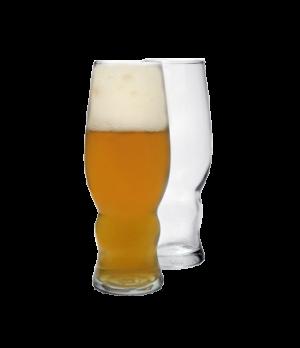 """Pilsner Glass, 16 oz., 7-5/8"""" H, glass, sodo material, (2-1/4"""" T, 2-7/8"""" M, 2-1/"""