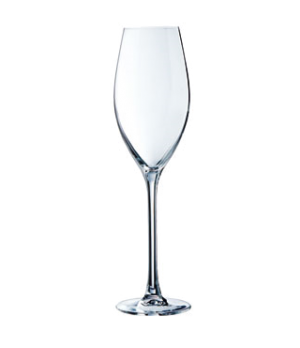 Champagne Flute Glass, 8 oz., glass, Kwarx®, Effervescence Plus, Chef & Sommelie