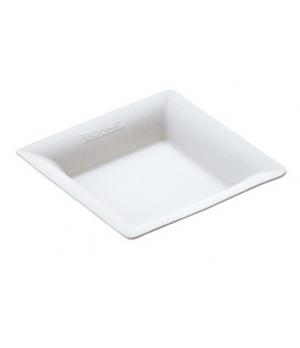 "Disposable Finger Food Plate, 2-5/9"" x 2-5/9"" (6.5 x 6.5 cm), square, biodegrada"