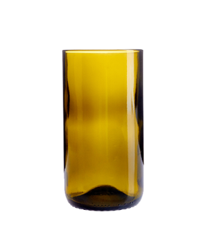 Tumbler, 16 oz., glass, amber, Arcoroc, Wine Bottom (H 5-1/2)