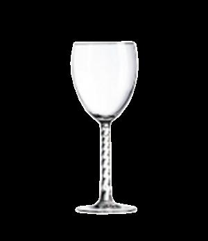 """Goblet Glass, 10-1/2 oz., glass, Marque Du Client, Angelique, (H 7-3/16""""; M 3-3/"""
