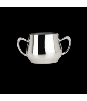 Sugar Bowl, 9 oz., with handles, 18/10 stainless steel, WNK, Eminence (USA stock