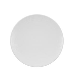 "Plate, 8-1/4"", coupe, flat, premium porcelain, Sedona"