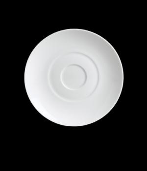 "Saucer, 6 1/4"" dia., round, porcelain, Duo, Rene Ozorio (USA stock item) (minimu"