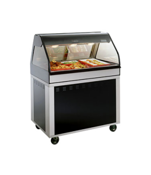 "Hot Deli Cook/Hold/Display System, 48"" L, full-service, includes (1) ED2-48 disp"