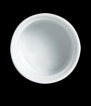 "Ramekin, 2 oz., 2-1/2' dia. x 1-3/8""H, Varick, Café Porcelain (Canada stock item"