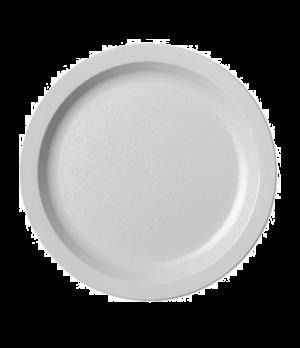 "Camwear® Plate, narrow rim, 8-1/4"", lightweight polycarbonate, non-porous surfac"