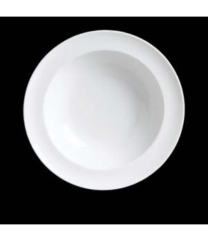 "Soup Bowl, 14 oz., 9"" dia., round, rimmed, porcelain, Rene Ozorio, Duo (USA stoc"