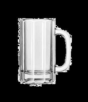 """Mug, 16 oz., paneled, (H 6-1/8""""; T 3-1/2""""; B 3-1/2""""; D 5"""")"""
