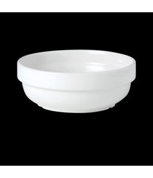 "Bowl, 68 oz., 8-1/4"" dia., round, stackable, vitrified ceramic, Performance, Sim"