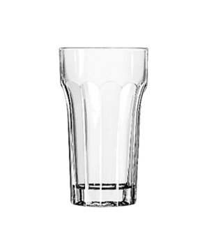 "Juice Glass, 4-1/4 oz., (H 4""; T 2-1/4""; B 1-5/8""; D 2-1/4"")"