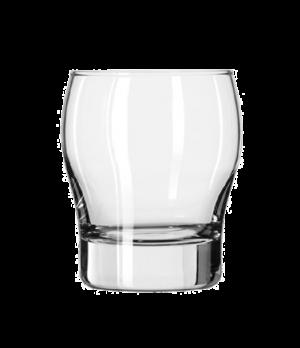 "Double Old Fashioned Glass, 12 oz., Safedge® Rim. PERCEPTION®, (H 4-1/8""; T 3-1/"