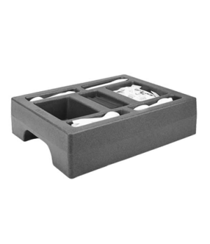 "Condiment Holder, fits 1000LCD, 20""D x 16""W x 5""H, granite gray, NSF"