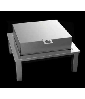 Magic Chafer Kit, 5.3 qt., full size, rectangular, sterno, with stand, includes