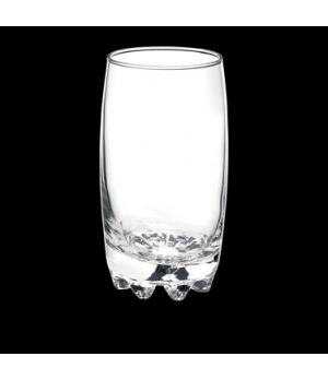 "Super Cooler, 20-1/2 oz., 3-1/4"" x 6-1/4"", stackable, glass, Bormioli, Galassia"