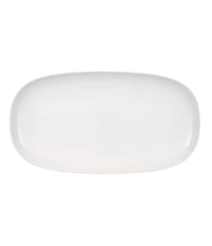"Platter, 19-5/8"" x 10-5/8"", oval, premium porcelain, Urban Nature"