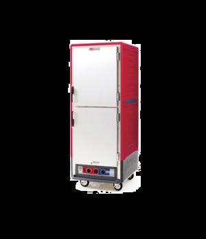 C53, Moisture Module, Red, Full height, dutch solid doors, Universal slides