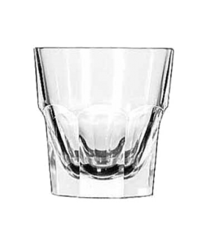 "Rocks Glass, 7 oz., tall, DuraTuff®, GIBRALTAR®, (H 3-3/8""; T 3-1/4""; B 2-1/2"";"