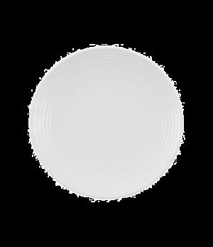 "Plate, 6-1/4"", coupe, flat, premium porcelain, Sedona"