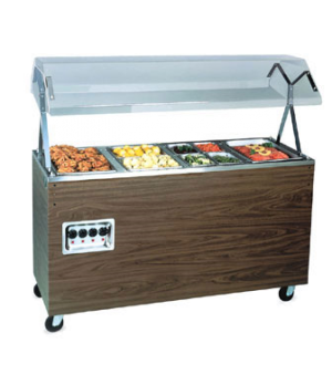 """Affordable Portable™ Hot Food Station, (3) well, 46""""W x 39-1/2""""D x 59""""H O.A., bu"""