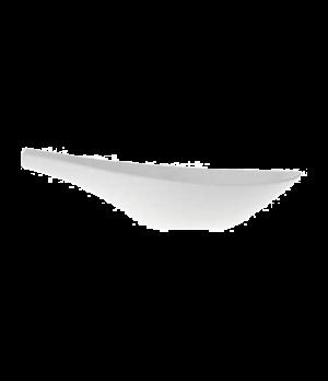 """Sauceboat, 9-1/4"""" x 3-1/2"""", 8 oz., premium porcelain, Flow"""