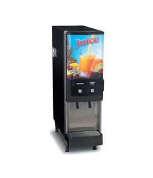 37900.0009 JDF-2S Silver Series® 2-Flavor Cold Beverage System, (4) 5 oz. drinks