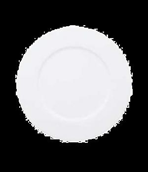 "Plate, 11-3/4"", flat, premium porcelain, Universal"