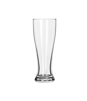 "Pilsner Glass, 16 oz. (H 8-1/8""; T 3""; B 2-5/8""; D 3"")"