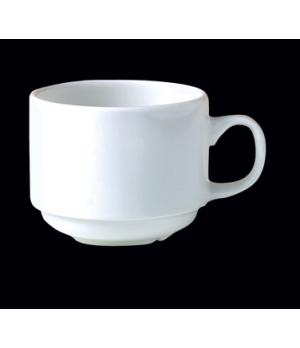"Cup, 3 oz., 3-1/4""W x 1-3/4""H, stacking, Distinction, Monaco, Monaco White (Cana"